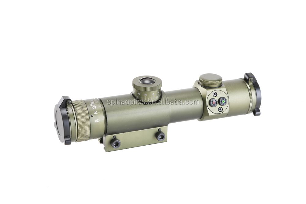 SPINA OPTICS Waterproof Hunting scope SS 4x21 AO Optical sight Telescopic Scope with 20mm QD scope mount