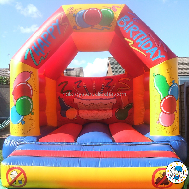 Hola footbal match bounce house/bouncy castle/jumping castle
