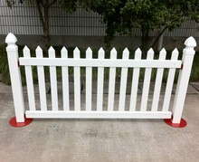 Vinyl Temporary Picket Fence (2014 New Arrival)
