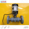 LAPAR Factory Price Compact Electric Flanged CPVC Ball Valve