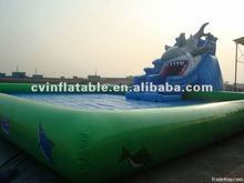 giant inflatable water slide pool for adult and kids /inflatable swimming pool on sale/inflatables