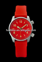 new popular silicone rubber wristband watch latest watches ladies