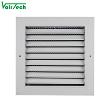 hvac ventilation fixed type bathroom exhaust fan return air filter grille with frame