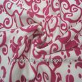 polyester printed polar fleece fabric 3d printing on fabric