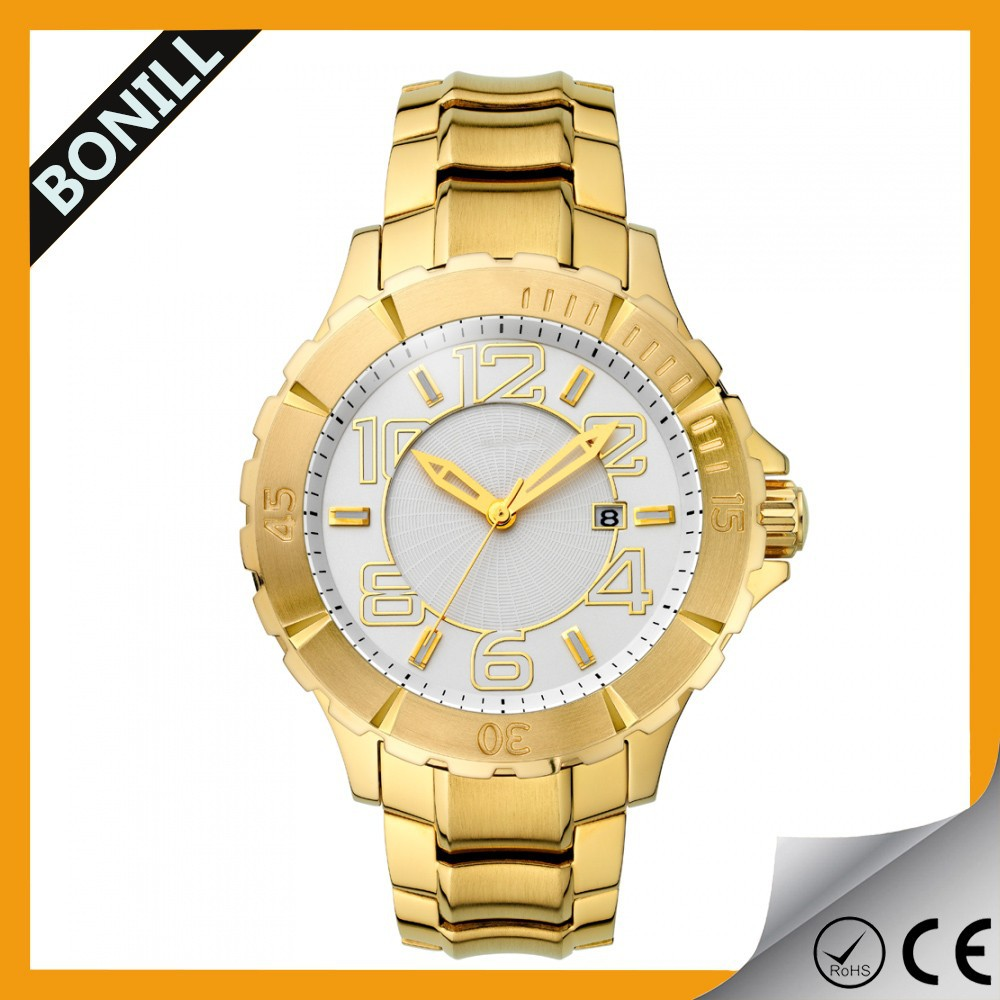 Luxury Style Alloy Case Import Watches Alibaba China Wholesale Waterproof calendar Cheap Products Easy to Sell