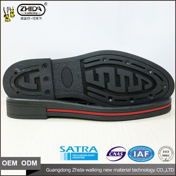 male new fashion latest men shoe sole design business rubber shoes sole with optional size 38-43