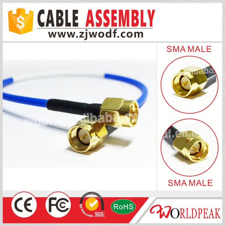 SMA male to SMA female RF coaxial cable adapter converter connector Jack for cell phone Mobile