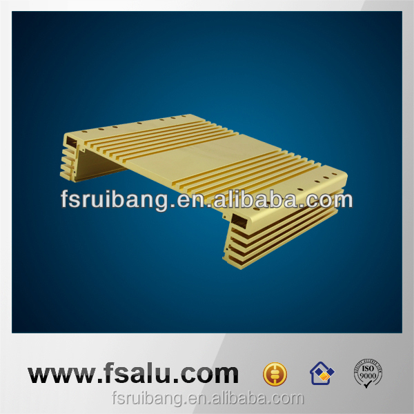 aluminum extrusion heatsink housing