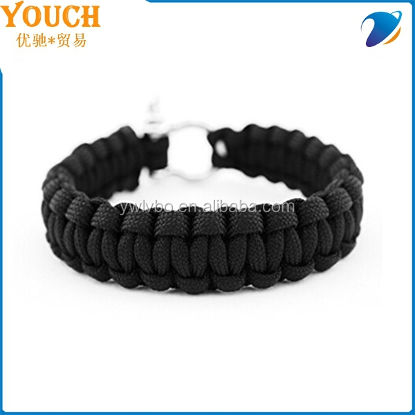 2015 alibaba supplier paracord survival rope personalized paracord bracelet