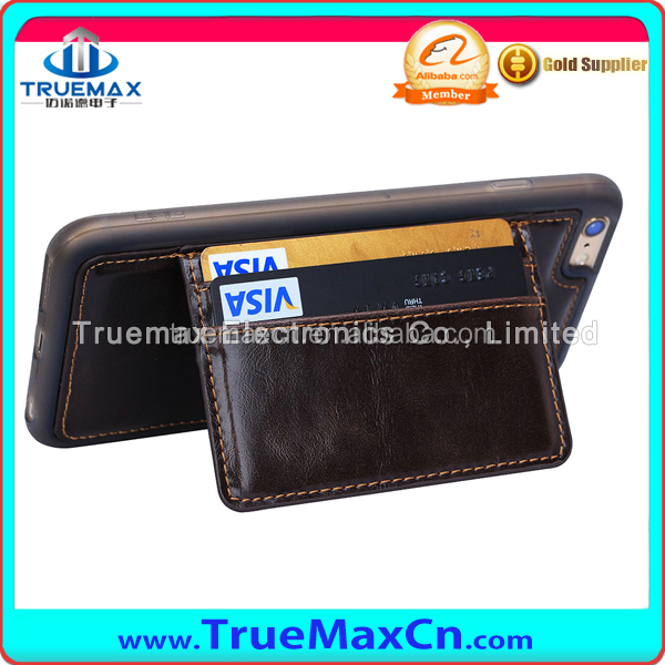High Quality Wallet Leather Case for iphone 6 Plus