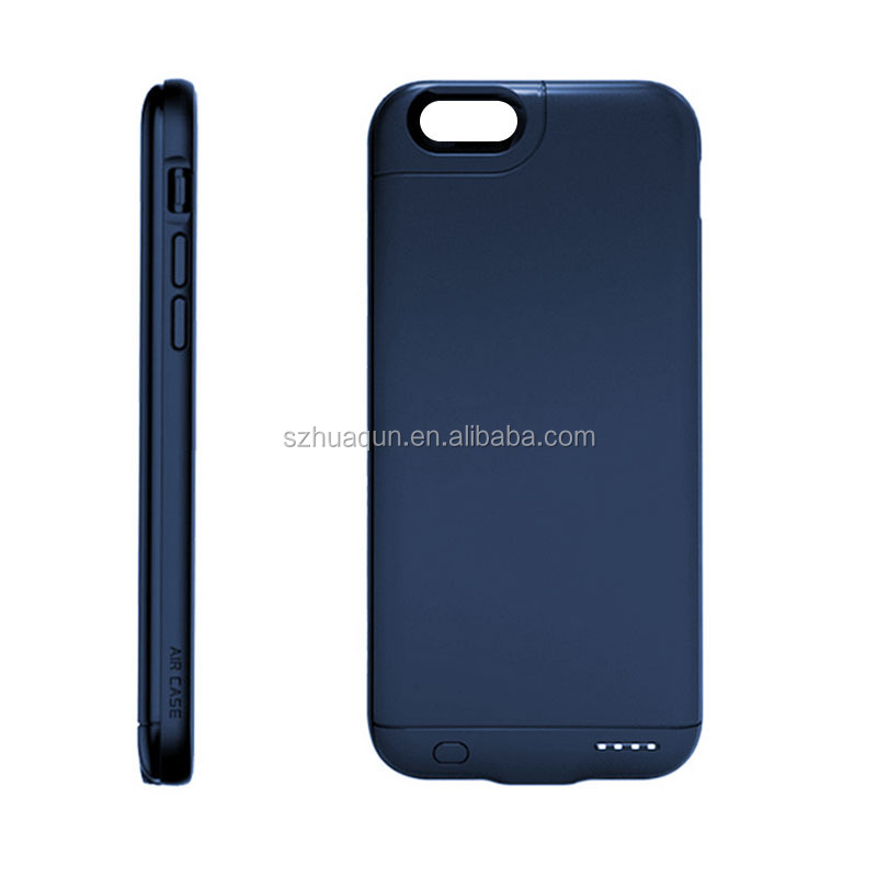 Manufacturer OEM/ODM available External Recharger phone case Charger Backup Battery Case Pack Power Bank Case For iPhone