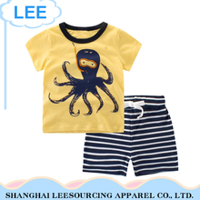New Baby Boy Clothing Set baby clothing 2 pieces t shirt and shorts
