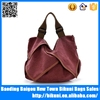 Alibaba high quality fashion custom women handbag canvas shoulder bag China tote bag