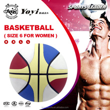 new seamless PU leather size 6 women basketball