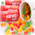 Rainbow Vitamin C jelly bean candy: 30G-per jar