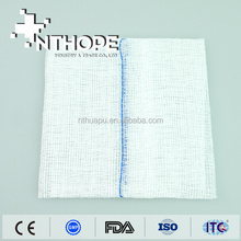 medical sterile gauze pieces with x-ray 3''x3''