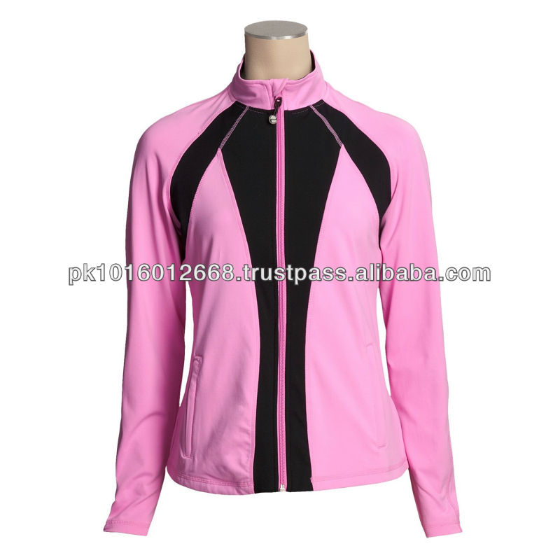 Multicolor Fitness Jacket (For Women)