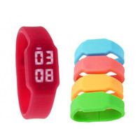 silicon power led watch promotional wristband usb flash drive