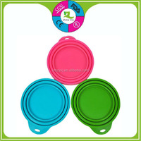 customized 3 in 1 FDA silicone cat tin can food lid