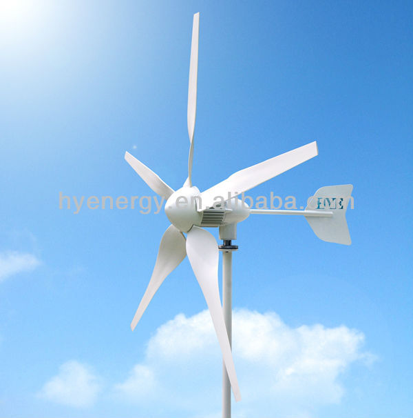 HYE 600W Wind Turbine Generator, Residential Wind Turbine with Max output 750W