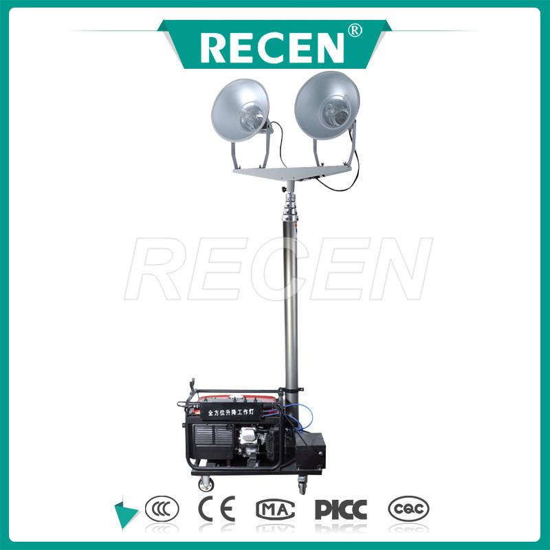 telescopic light tower,small waterproof led lights