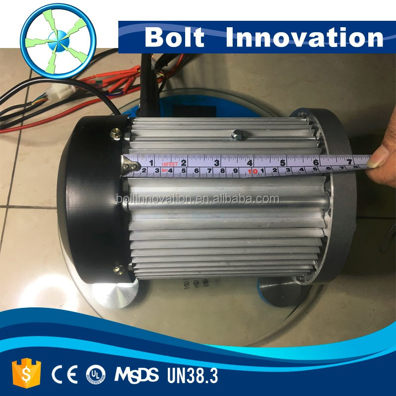 permanent magnet brushless direct drive motor 7.5KW 48V hot sale