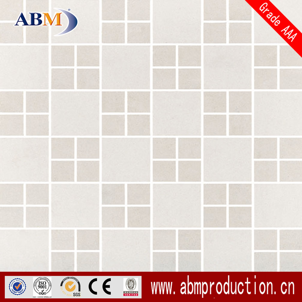 300X300 grey and white mosaic tile of China