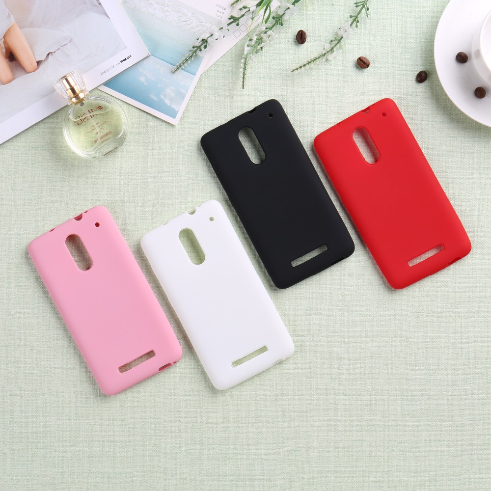 Factory sale for xiaomi redmi note 3 back case cover housing case high quality siliocne black white pink red color