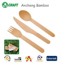 Reusable Wooden Spoon and Fork