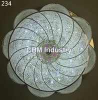 Brand new retractable ceiling light fixtures 6 inch round led ceiling light cover