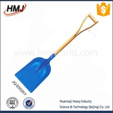 new different types of painted shovels
