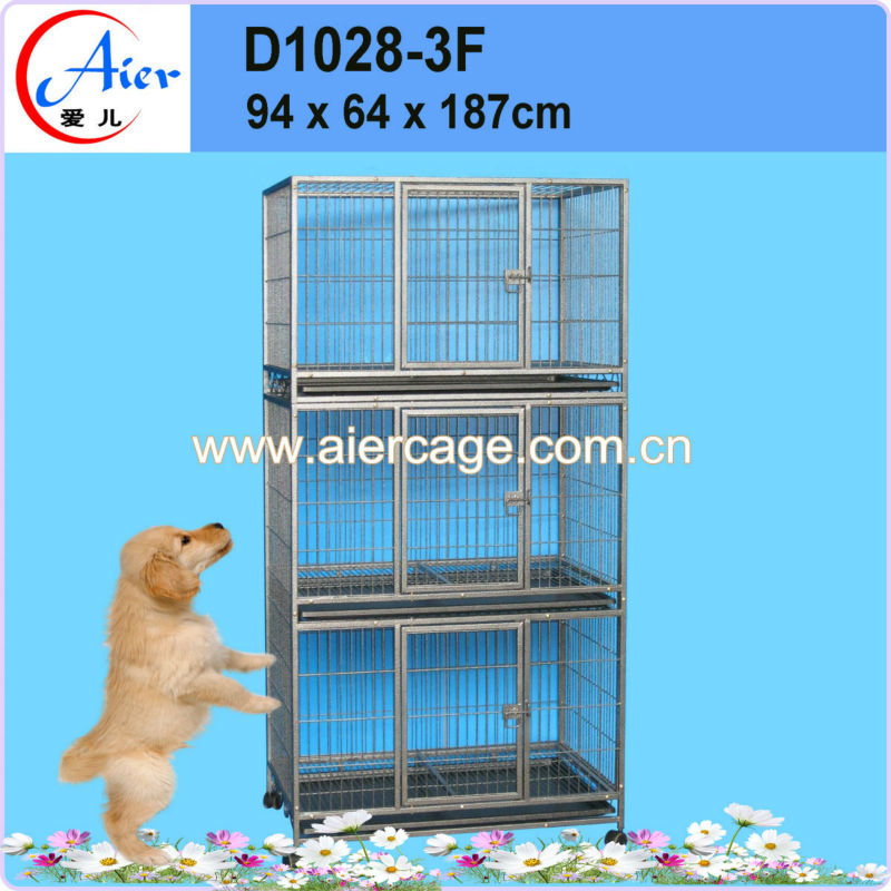 best price metal folding dog cage and kennels hot sale