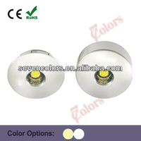 8mm led thin spot ceiling lights 1w high power (SC-A106A)