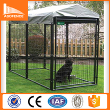 10x10x6 foot dog kennel/galvanized outdoor house for your loyal friends