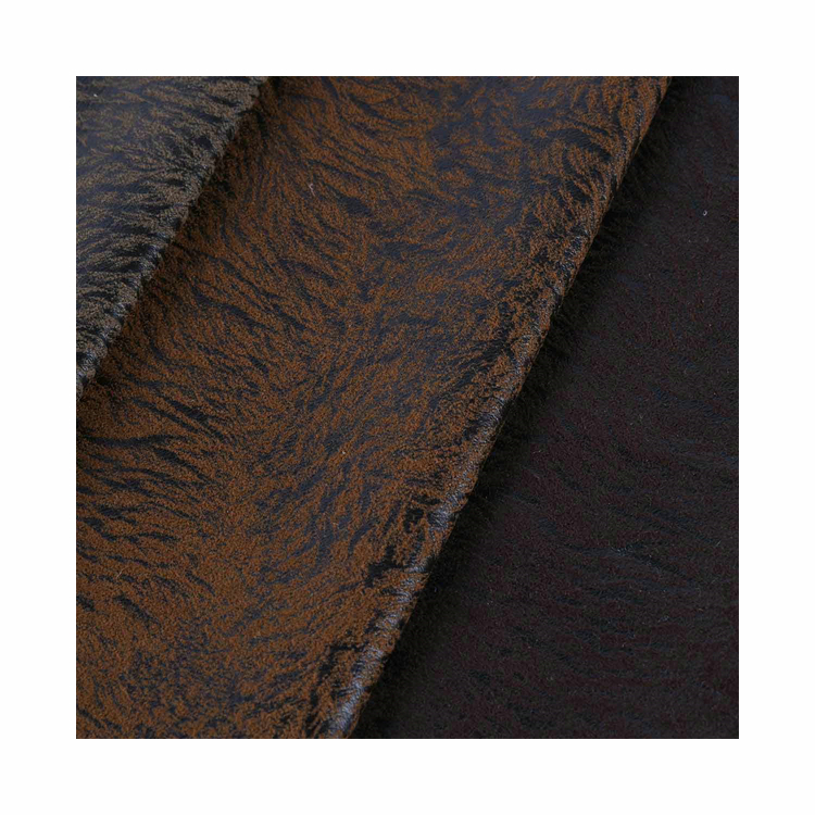 New Product Bronzing Suede Fabric Popular Design With TC Backing for Sofa and Furniture