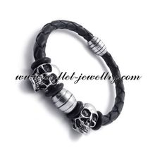 2014 china supplier fashion accessories cord bracelet make braided leather bracelet braide