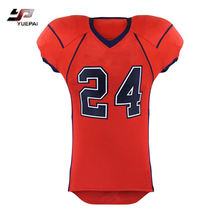 Wholesale custom design sublimated american football jersey