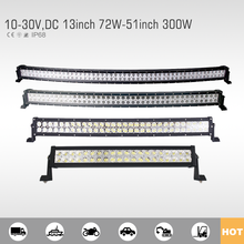Economic and Reliable off road car curved led light bar