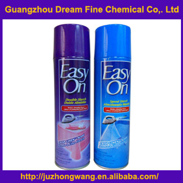 High standard first class China supplier ironing spray starch/best Easy on spray starch for clothes