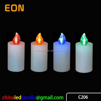 2*AA(R6) battery operated LED Grave Candle