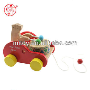 China cheap toy pull bear moving animal kids toy