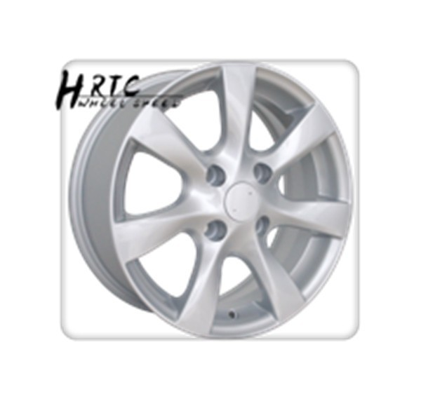 2015 new 17 inch wheel rim full coated silver alloy rim for Nissa