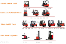 cheap price clamp forklift truck