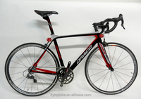 2015 High Modulus Full Carbon 700C Racing Road Bike 48/50/52/54cm Speed 18