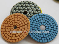 China Factory Selling Flexible Nature Stones Polishing Pads/Flooring Tools
