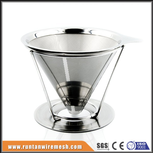 Cold brew coffee stainless steel filter