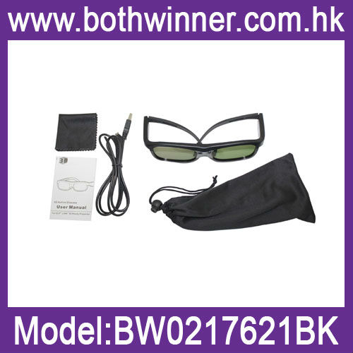 cheap 3d active shutter glasses