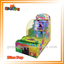 Smart game ML-QF663 cheap custom token coins redemption game machine