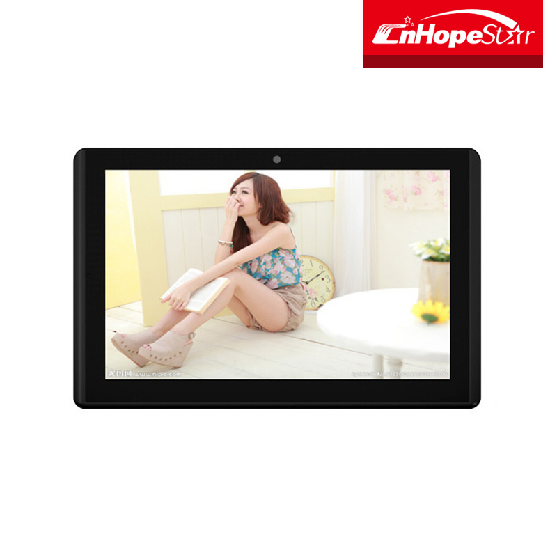 IPS Android LCD 10.1Inch Wall Mounted Ad Player / LCD Digital Advertising Display