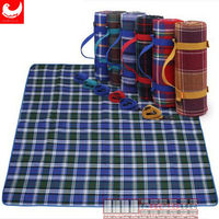 Cheap Outdoor Waterproof 100% Polyester Printed Picnic Blanket